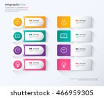 label infographic design  tag... | Shutterstock .eps vector #466959305