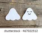 Cut From White Felt Details Fo...