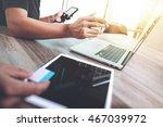 business team present. photo... | Shutterstock . vector #467039972