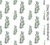 hand painted watercolor pine...   Shutterstock . vector #467067902