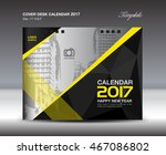 desk calendar for 2017 year ... | Shutterstock .eps vector #467086802