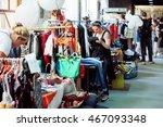 kyiv  ukraine   jul 23  people... | Shutterstock . vector #467093348