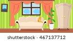 apartment interior concept... | Shutterstock .eps vector #467137712