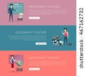 set of school education banners....   Shutterstock .eps vector #467162732