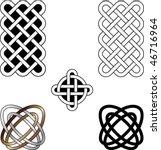 celtic vector ornament | Shutterstock .eps vector #46716964