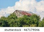 Rusty Weathered Barn On Top...