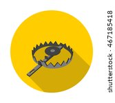 flat icon trap in vector format ... | Shutterstock .eps vector #467185418