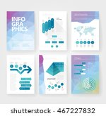 business brochure design... | Shutterstock .eps vector #467227832