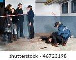 Bystanders Being Held At A...