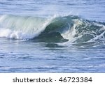 early morning california wave | Shutterstock . vector #46723384
