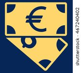 euro and dollar banknotes icon. ... | Shutterstock .eps vector #467240402