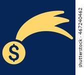 lucky money icon. vector style... | Shutterstock .eps vector #467240462