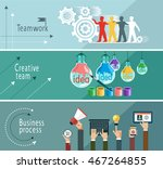 modern vector illustration... | Shutterstock .eps vector #467264855