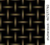 golden metal grid seamless... | Shutterstock .eps vector #467277782