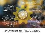 industrial 4.0 cyber physical... | Shutterstock . vector #467283392