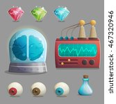 a collection of items for mad... | Shutterstock .eps vector #467320946
