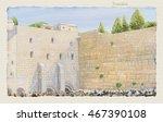 Western Wall Jerusalem  Prayer. ...
