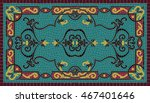 colorful traditional art mosaic ... | Shutterstock .eps vector #467401646