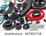 various rubber products and... | Shutterstock . vector #467401718