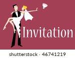 vector illustration of funky... | Shutterstock .eps vector #46741219