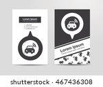 car wifi doodle | Shutterstock .eps vector #467436308