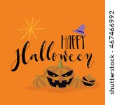 halloween background | Shutterstock .eps vector #467466992