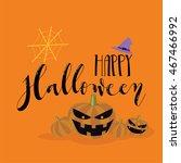 halloween background | Shutterstock .eps vector #467466992