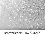 drops of water on a color... | Shutterstock . vector #467468216