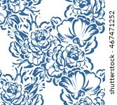 abstract elegance seamless... | Shutterstock .eps vector #467471252