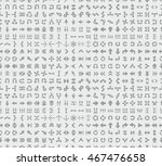 seamless background with...   Shutterstock .eps vector #467476658