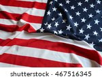 us flag | Shutterstock . vector #467516345