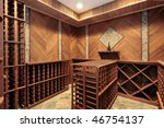 Wine Cellar In Luxury Home With ...