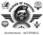 special forces vector emblem...