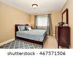 nice bathroom in blue tones... | Shutterstock . vector #467571506