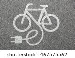 e bike e bike ebike electric... | Shutterstock . vector #467575562