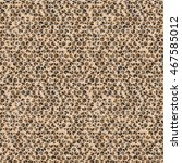 geometric hexagon gem pieces... | Shutterstock .eps vector #467585012