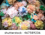 thai paper decoration coins... | Shutterstock . vector #467589236