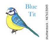 Vector Illustration Ethnic Bird ...