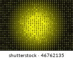 Squared Yellow Background