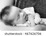 newborn baby boy | Shutterstock . vector #467626706