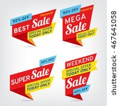 super sale  mega sale  weekend...   Shutterstock .eps vector #467641058