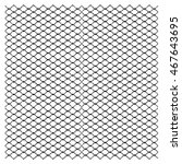 vector fence chain link pattern.... | Shutterstock .eps vector #467643695