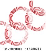olympic rings. abstract... | Shutterstock .eps vector #467658356