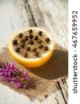 natural mosquito repellent .... | Shutterstock . vector #467659952