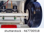 view from the bottom on chassis ... | Shutterstock . vector #467730518