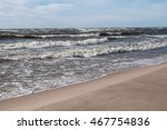 waves of the baltic sea | Shutterstock . vector #467754836