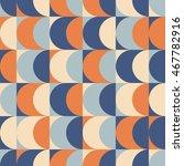 seamless vintage geometric... | Shutterstock .eps vector #467782916
