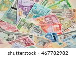 variety of the african banknotes | Shutterstock . vector #467782982