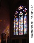 Historical Stained Glass Window ...