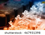 close up of fragment of... | Shutterstock . vector #467931398